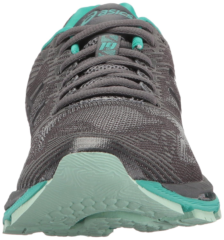 ASICS Women's Gel-Nimbus 19 Lite-Show Running Shoe B01N0B5804 10.5 B(M) US|Dark Grey/Black/Reflective