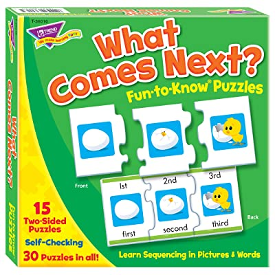 Fun-to-Know® Puzzles: What Comes Next?: Toys & Games