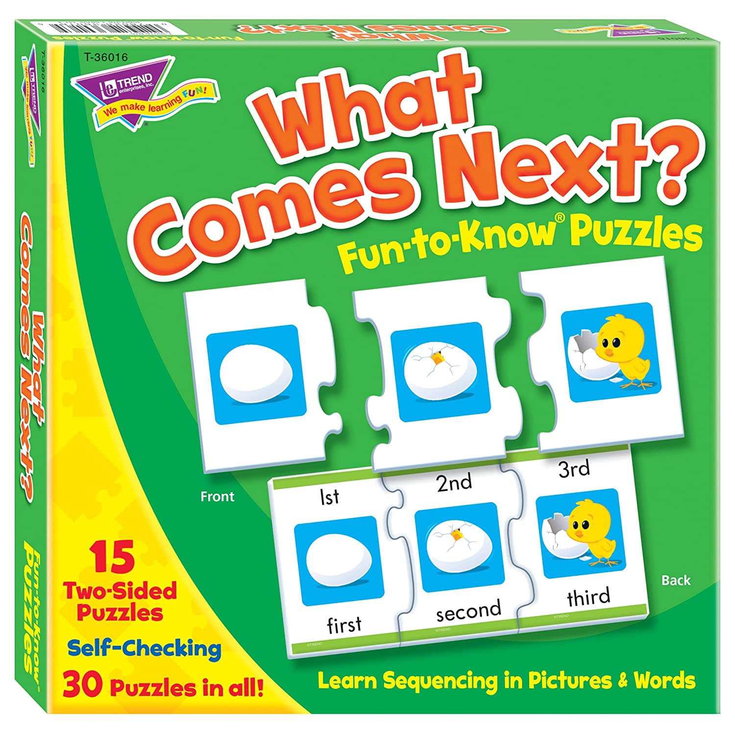 Fun to Know® Puzzles What Comes Next