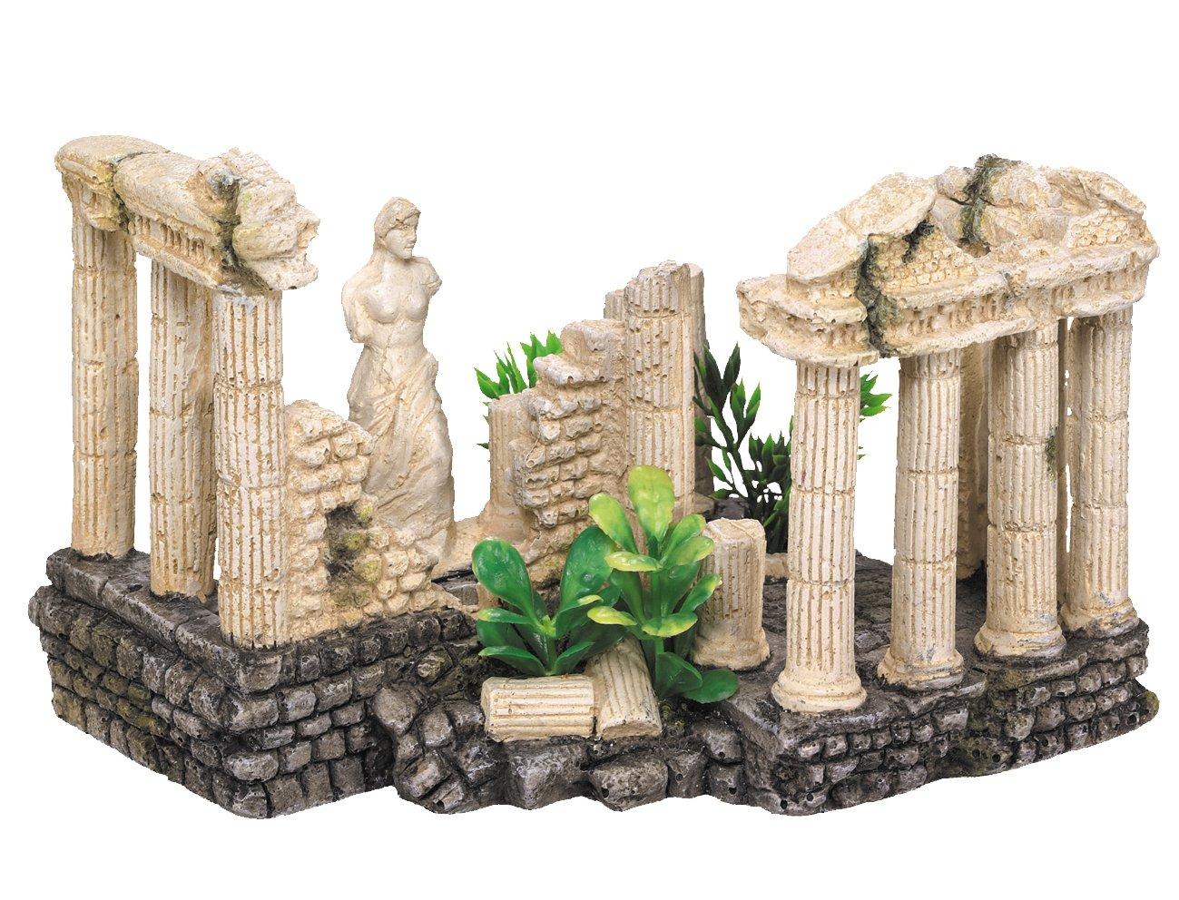 Nobby - Decoración para acuario, diseño de columnas antiguas con plantas, 15 x 19 x 12,5 cm: Amazon.es: Productos para mascotas