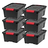 IRIS USA, Inc TB-42 Stack & Pull Storage Box, 12