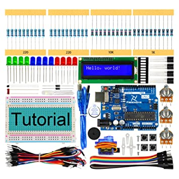 Freenove LCD 1602 Starter Kit for Arduino UNO R3, 118 Pages Detailed