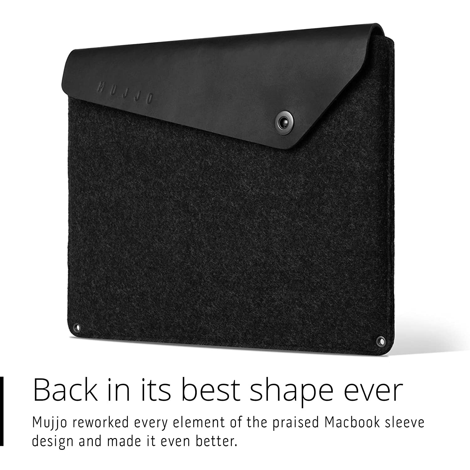 promo code d5733 c886c Mujjo Leather Sleeve compatible with 13