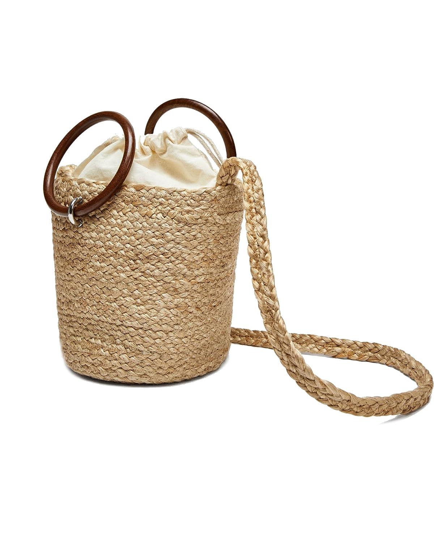 Zara - Bolso mochila para mujer Blanco Bianco Medium: Amazon.es: Ropa y accesorios