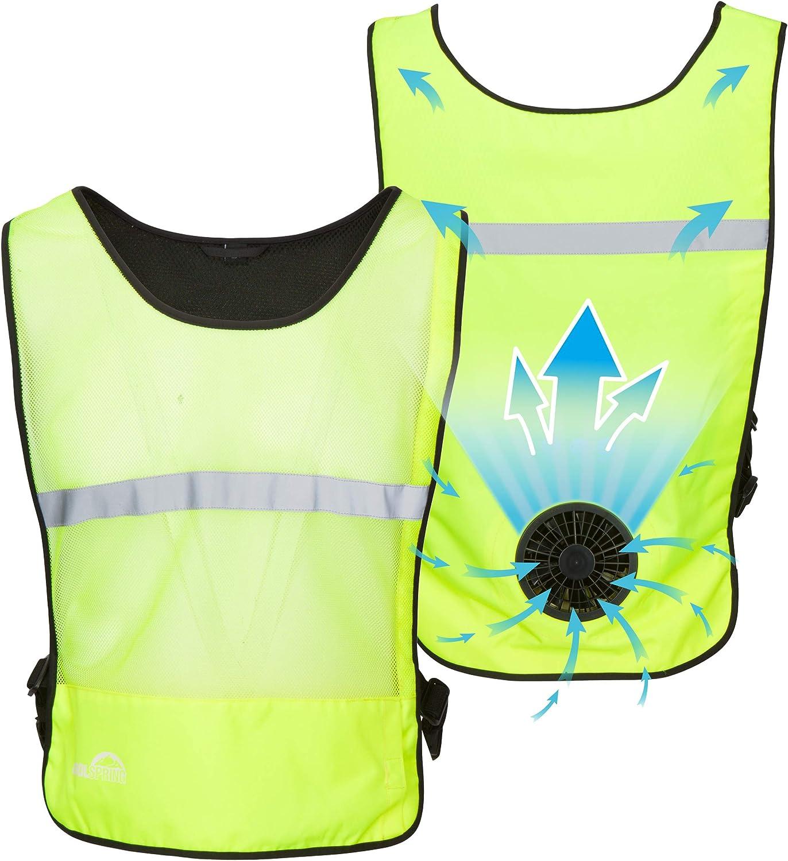 Venture Heat Wearable Fan Vest, 1 Speed - Air Circulation Battery Powered Portable Cooling Shirt, WindTech
