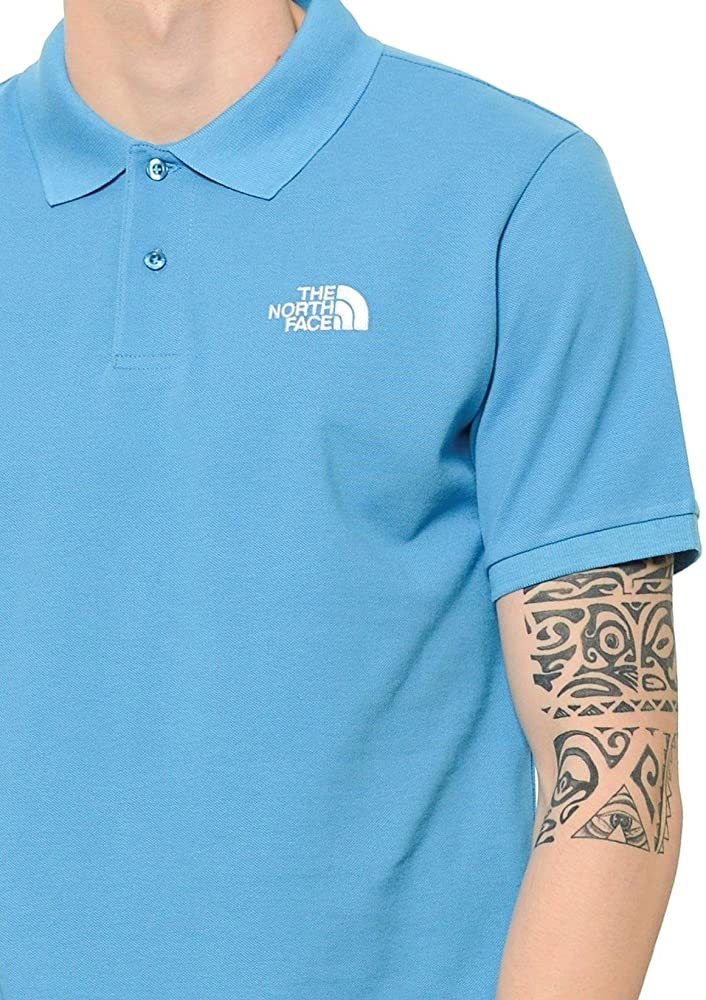The North Face Polo Piquet, Hombre, Azul (Cendre Blue), X-Large ...