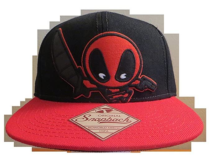 Image Unavailable. Image not available for. Color  Marvel Kawaii Deadpool  Baseball Cap ... 6aadd326138d