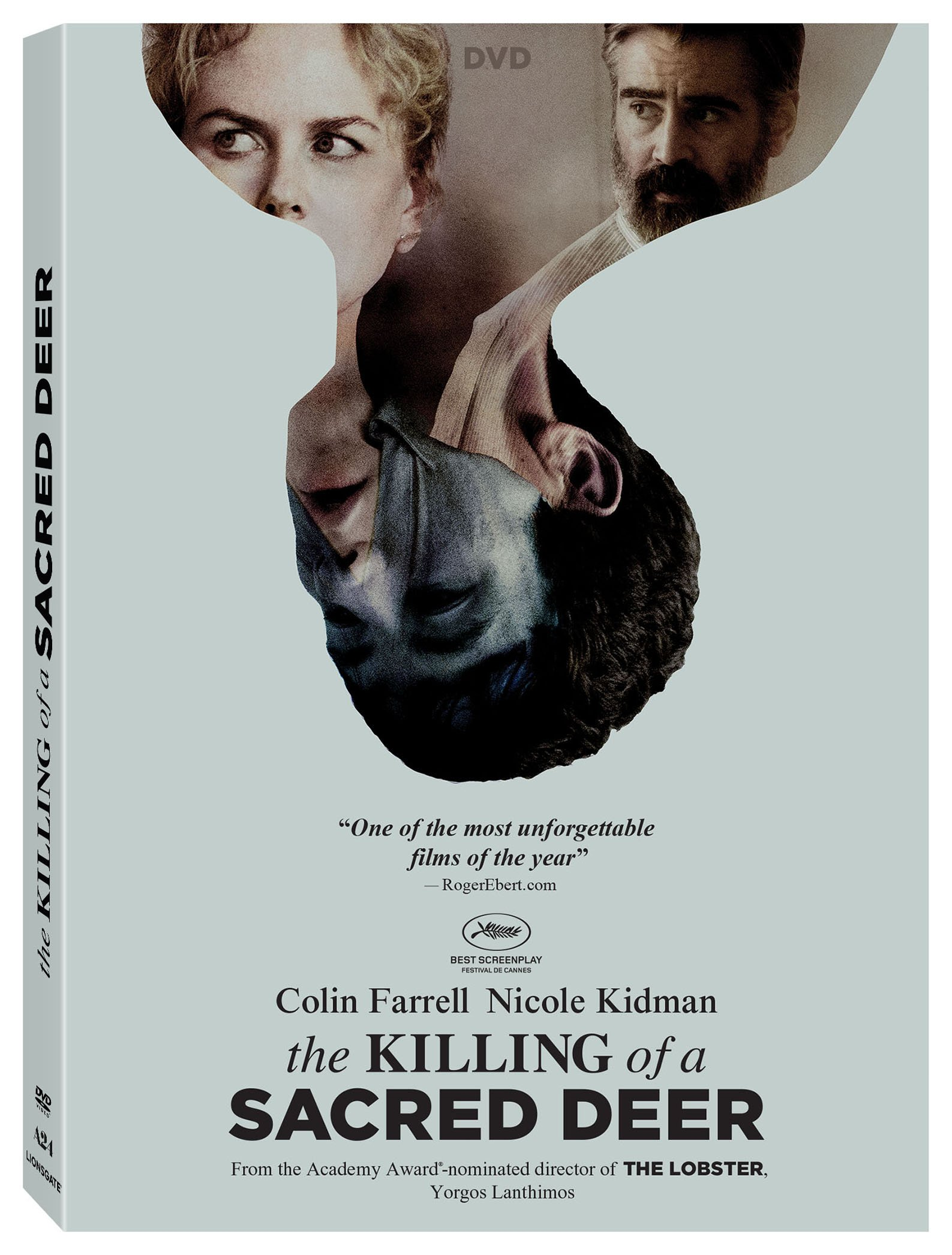 DVD : The Killing Of A Sacred Deer (Widescreen, Dolby, AC-3, )