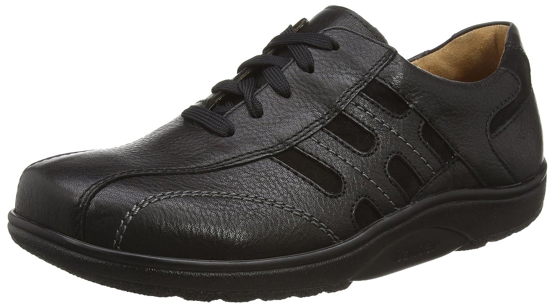 Ganter Aktiv Heimo, Weite H - Zapatos De Cordones para hombre, color beige (schwarz 0100), talla 44