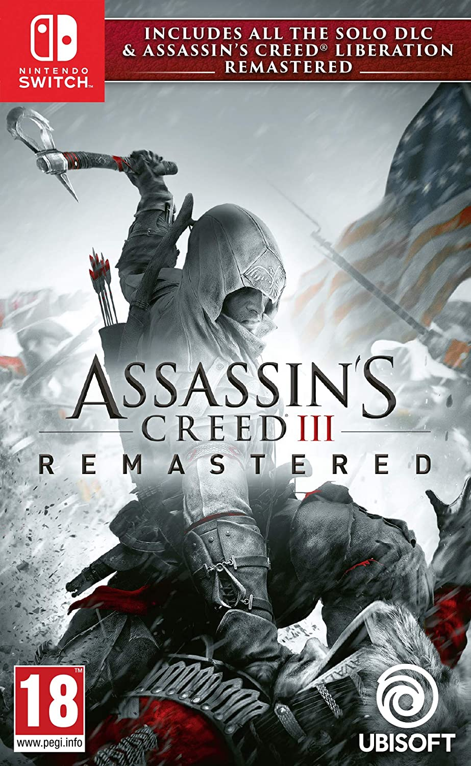 Assassin S Creed Iii Remastered Nintendo Switch Amazon Co Uk