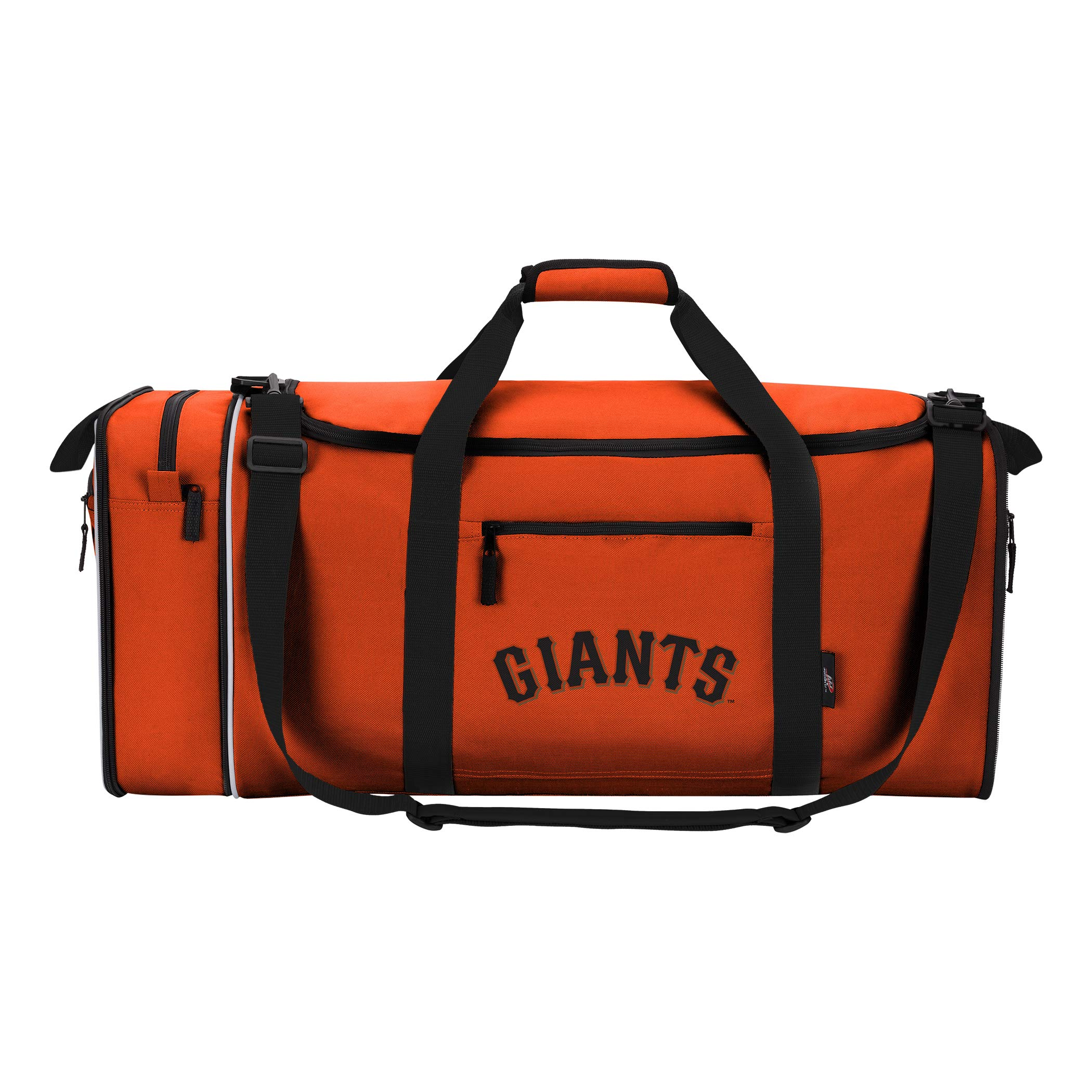 MLB San Francisco Giants Extended Duffel Bag, One Size, Orange