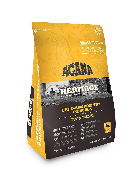 Orijen Acana Heritage Free Run Poultry Dog Food, 4.5 lb