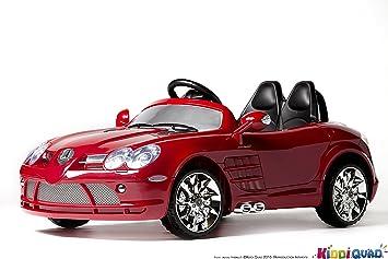 Électrique Mercedes MétalliséeVoiture Rouge Benz Slr Enfant f6g7yYbIv