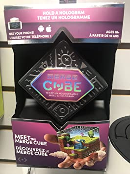 MERGE Cube (Canadian edition) - Fun & Educational Augmented Reality STEM  Toy for Kids, Learn Science, Math, and More