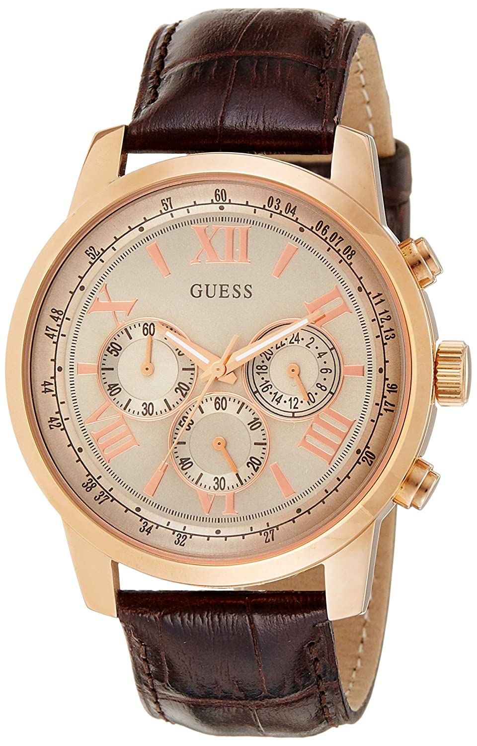 Amazon.com: GENUINE GUESS Watch CLASSIC Male Chronograph - w0380g4: Watches