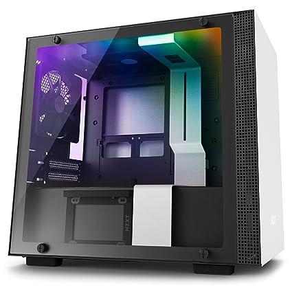 NZXT H200i Mini-ITX Computer Case with digital fan control and RGB lighting Matte  sc 1 st  Amazon.com & Amazon.com: NZXT H200i Mini-ITX Computer Case with digital fan ...
