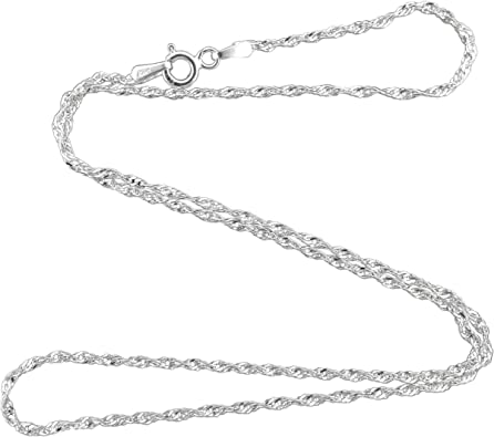 Rope chains Brand new 925 sterling silver 16 18 20 22 24 26 28 30 inch 1.5 mm  necklaces