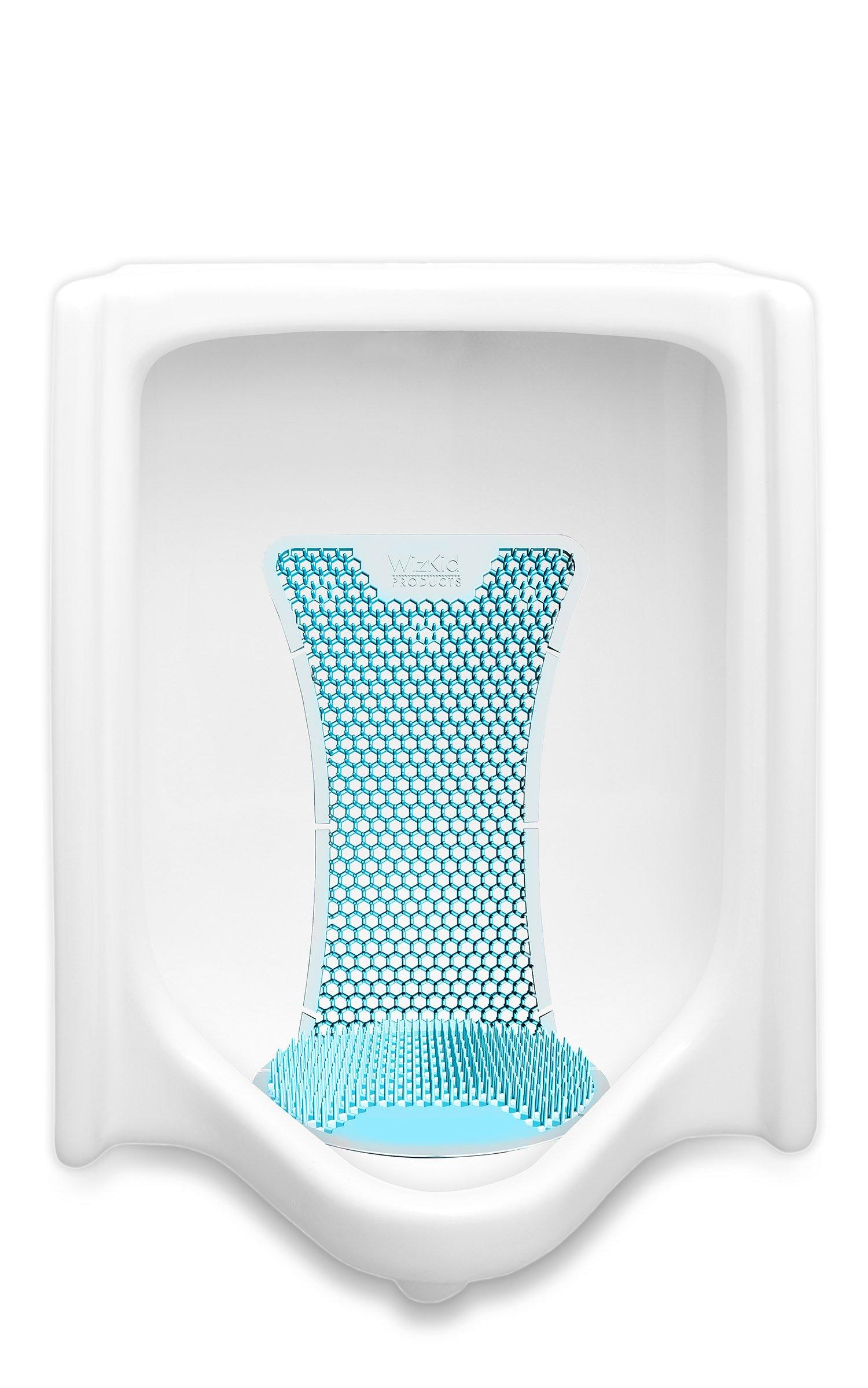 T Market Splash Hog Urinal Screen - Clean Scent   Reduces Splash-Back   Long Lasting Fragrance   Deodorizes for up to 60 Days   6-Pack, Light Blue by T Market (Image #2)