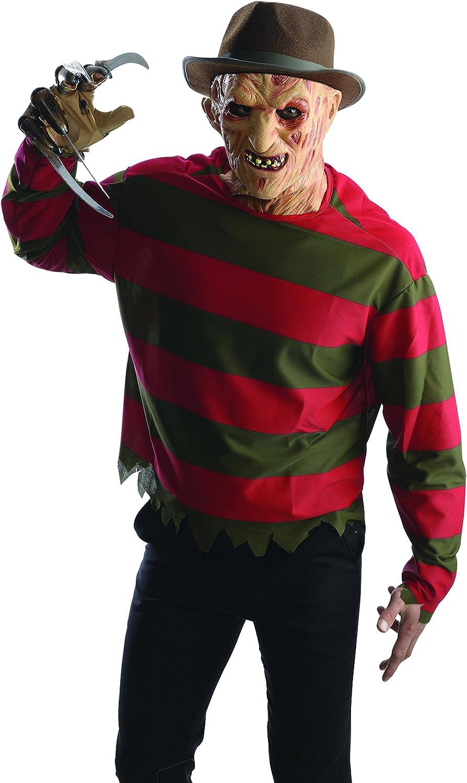 Kit disfraz de Freddy Krueger Pesadilla en Elm Street para hombre ...