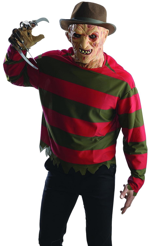 amazon com rubie u0027s men u0027s nightmare on elm st freddy krueger shirt