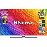 ハイセンス 55V型 液晶 テレビ 55A6500 4K 外付けHDD裏番組録画対応 HDR対応 2018年モデル