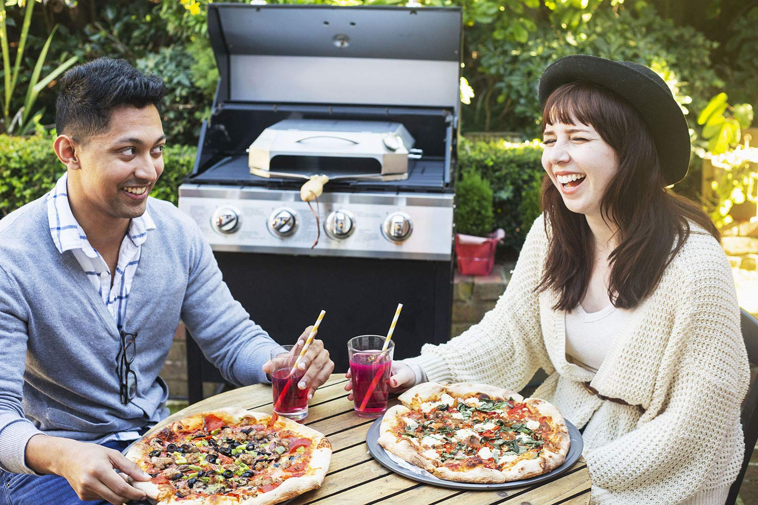 only fire Universal Stainless Steel Pizza Oven Kit Fits for Any Gas Grilll by only fire (Image #4)