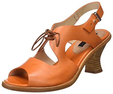 Neosens Women's S980 Restored Skin Carrot/Negreda Open Toe Sandals Countdown Package For Sale Sale 100% Original Outlet How Much Extremely Online Fake For Sale hONnf4uAK6