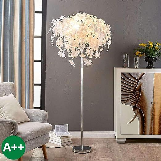Lámpara de mesa Maple (Moderno) en Blanco hecho de Plástico e.o. ...