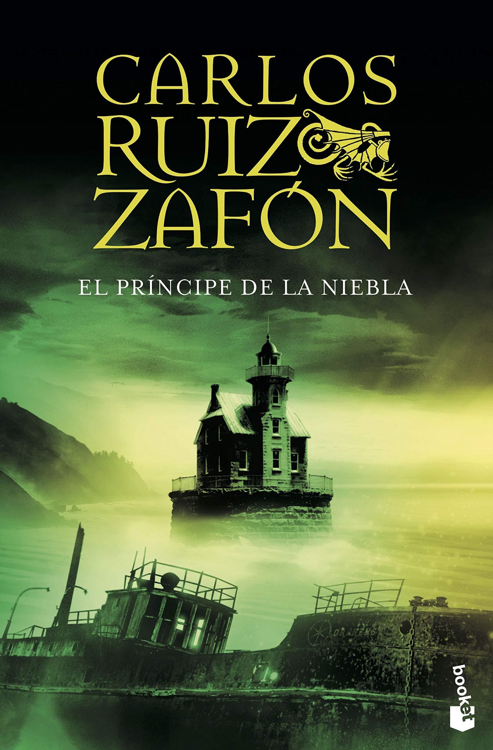 El principe de la niebla / The Prince of Mist (Spanish) Paperback – Import,  30 Jun 2008. by Carlos Ruiz Zafon ...