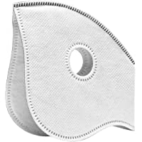 ECO-GEAR Replaceable Filters for Your Anti Pollution Face Mask with Military Grade Protection   Anti Smoke, Exhaust Gas, Dust, Pollen Allergens   Hiking, Running, Walking, Cycling, Ski and Outdoor