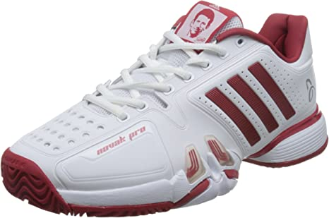Adidas Performance NOVAK PRO Scarpe da tennis outdoor white
