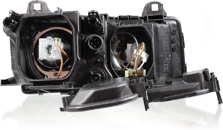 09.90-02.98 H1//H1 Halogen Scheinwerfer Set f/ür 3 E36 Bj