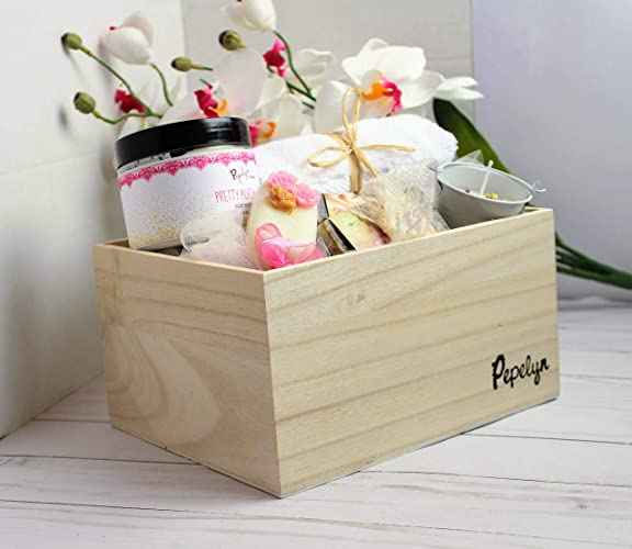 Amazoncom Gift Basket By Pepelyn Spa Gift Basket For Her Spa