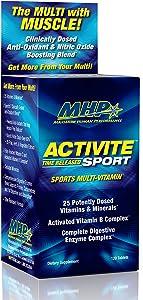 Maximum Human Performance Mhp Activite Sport Multi, 120 tablets