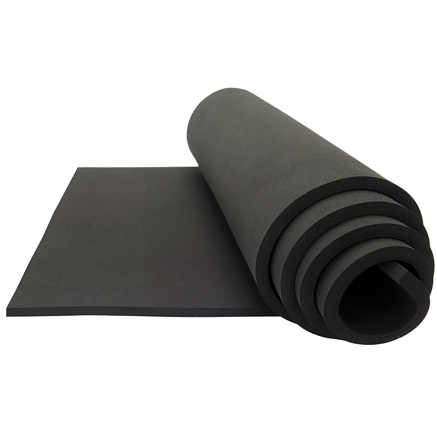 Neoprene Sponge Foam Rubber Sheet Roll - 15in x 60in (1/8