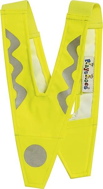 Playshoes Kinder Sicherheitskragen, Kinderwarnweste, Sicherheits-V mit Reflektor