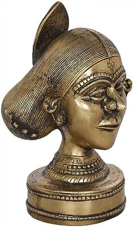 Amazon.com: Exotic India Beautiful Tribal Lady with Stylish ...