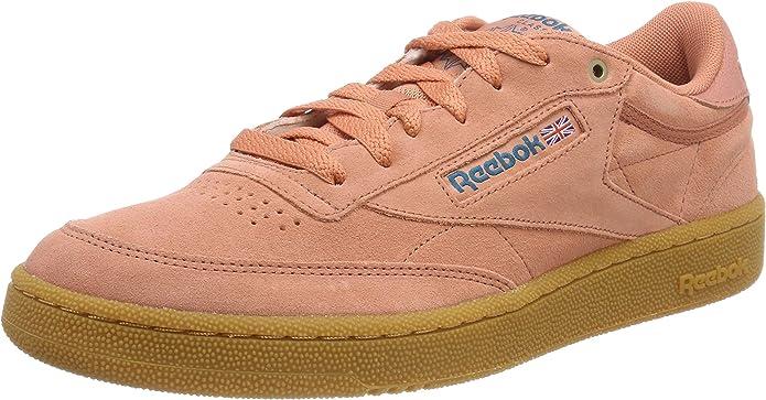 Reebok Club C 85 Sneakers Fitnessschuhe Herren Rosa (Dirty Apricot)