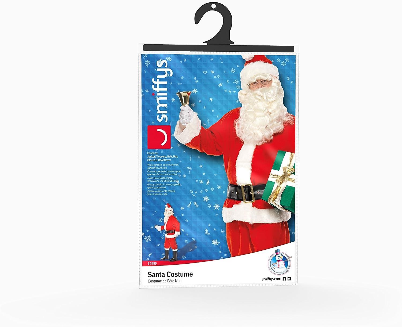 Rosso Smiffys Guanti Babbo Natale