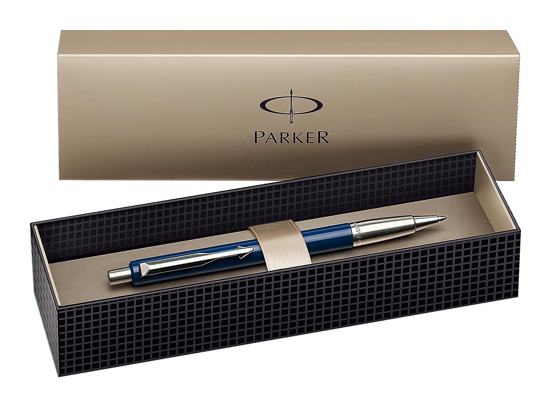 Bol/ígrafo de punta de bola y caja Parker color negro