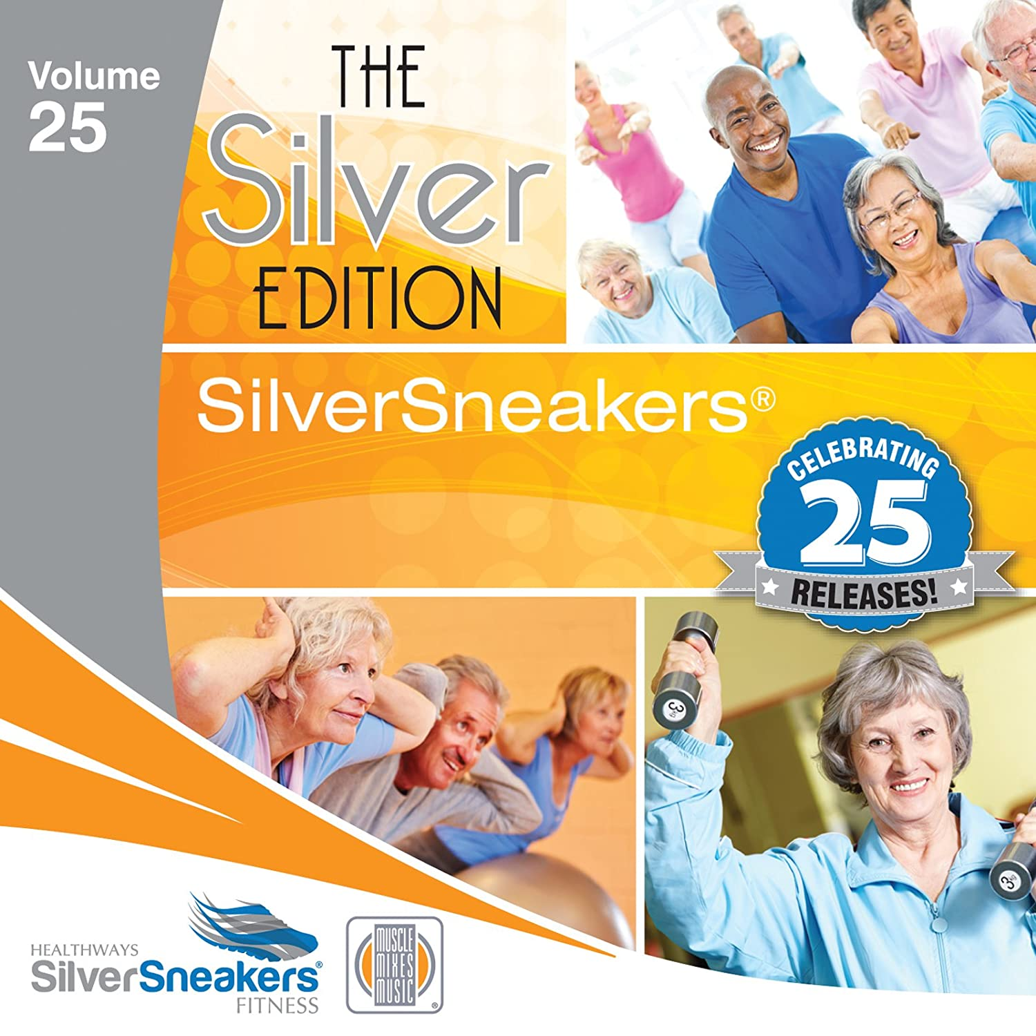 Muscle Mixes Music - Silver Sneakers Vol 25 - The Silver Edition ...