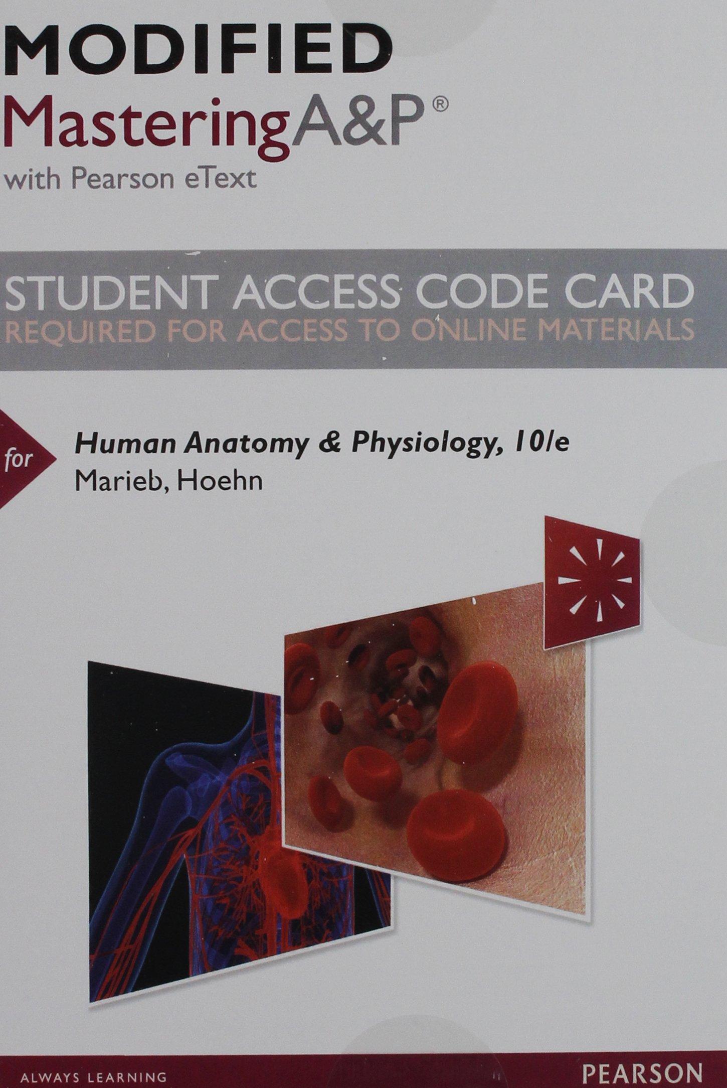 Increíble Pearson Anatomy And Physiology Access Code Bandera ...