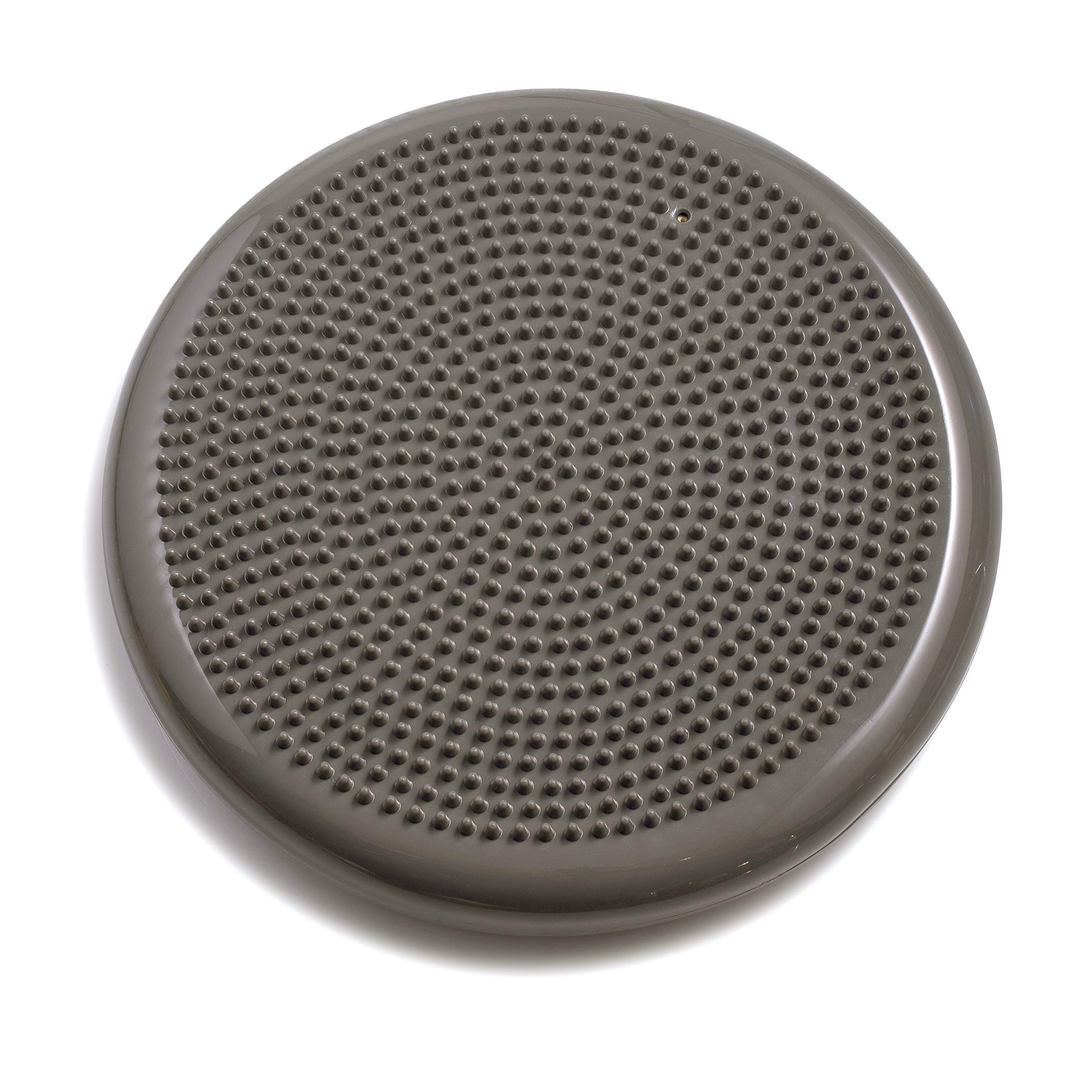 bintiva Inflated Stability Wobble Cushion, Including Free Pump/Exercise Fitness Core Balance Disc, Gray, 13 inches(33 cm) by bintiva (Image #2)