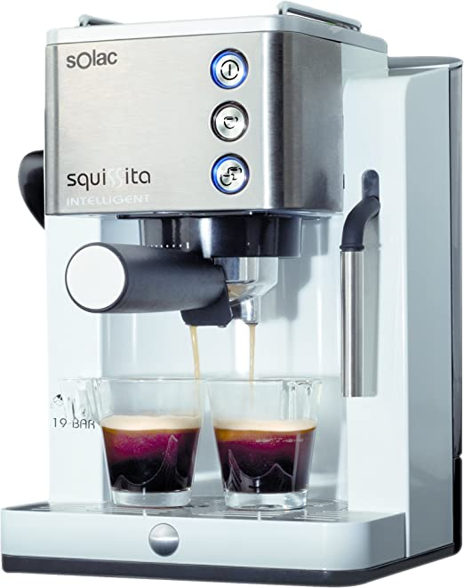 Solac Squissita Intelligent CE4492 Cafetera Express, Acero Inoxidable: Amazon.es: Hogar