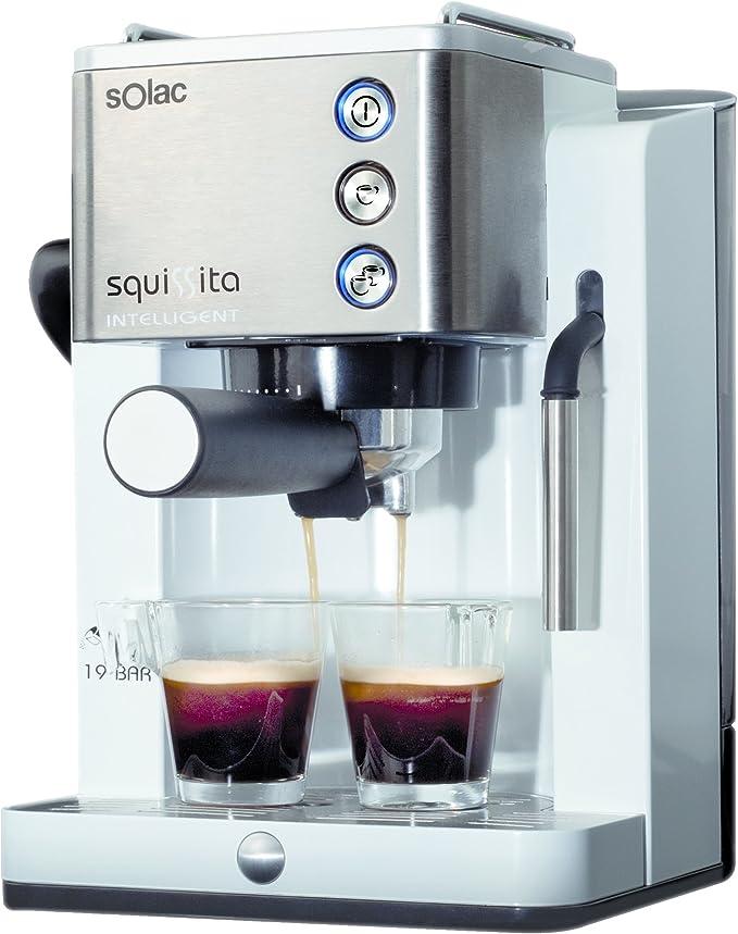 Solac Squissita Intelligent CE4492 Cafetera Express, Acero ...