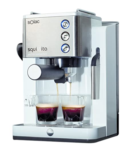 Solac Squissita Intelligent CE4492 Cafetera Express, Acero Inoxidable