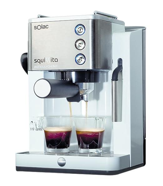 Solac Squissita Intelligent CE4492 Cafetera Express, Acero Inoxidable