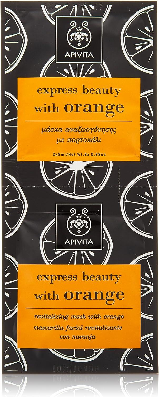 Mascarilla revitalizante con naranja Apivita