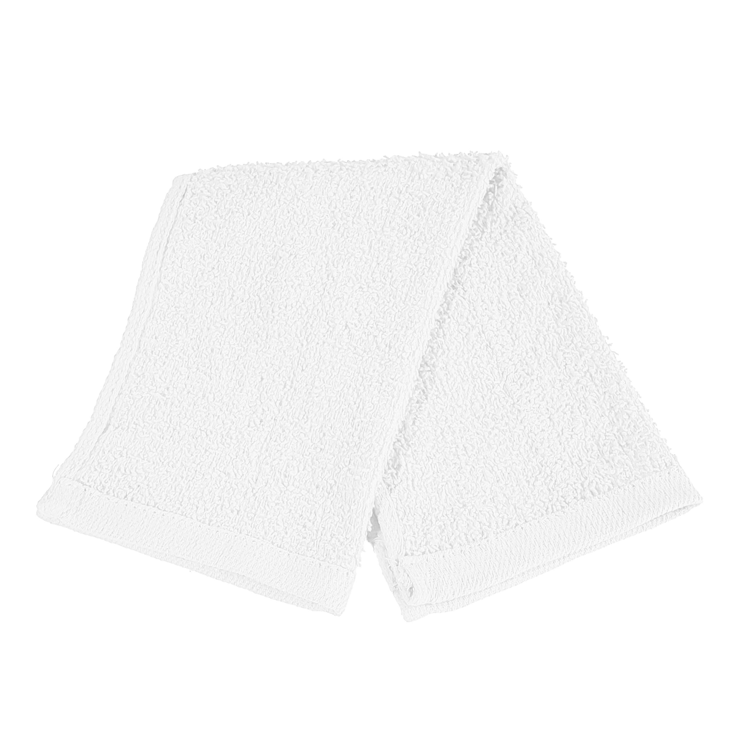 Set of 24- Affordable Cheap Rally Towels White