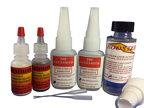 The Gluesmith Plastic Repair Glue System